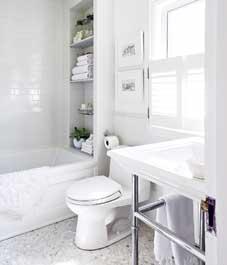 Výzdoba koupelny: Celoobličejová koupelna