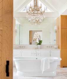 Dekorace koupelny: Elegantní statek