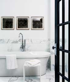 Dekorace koupelny: Moderní Euro