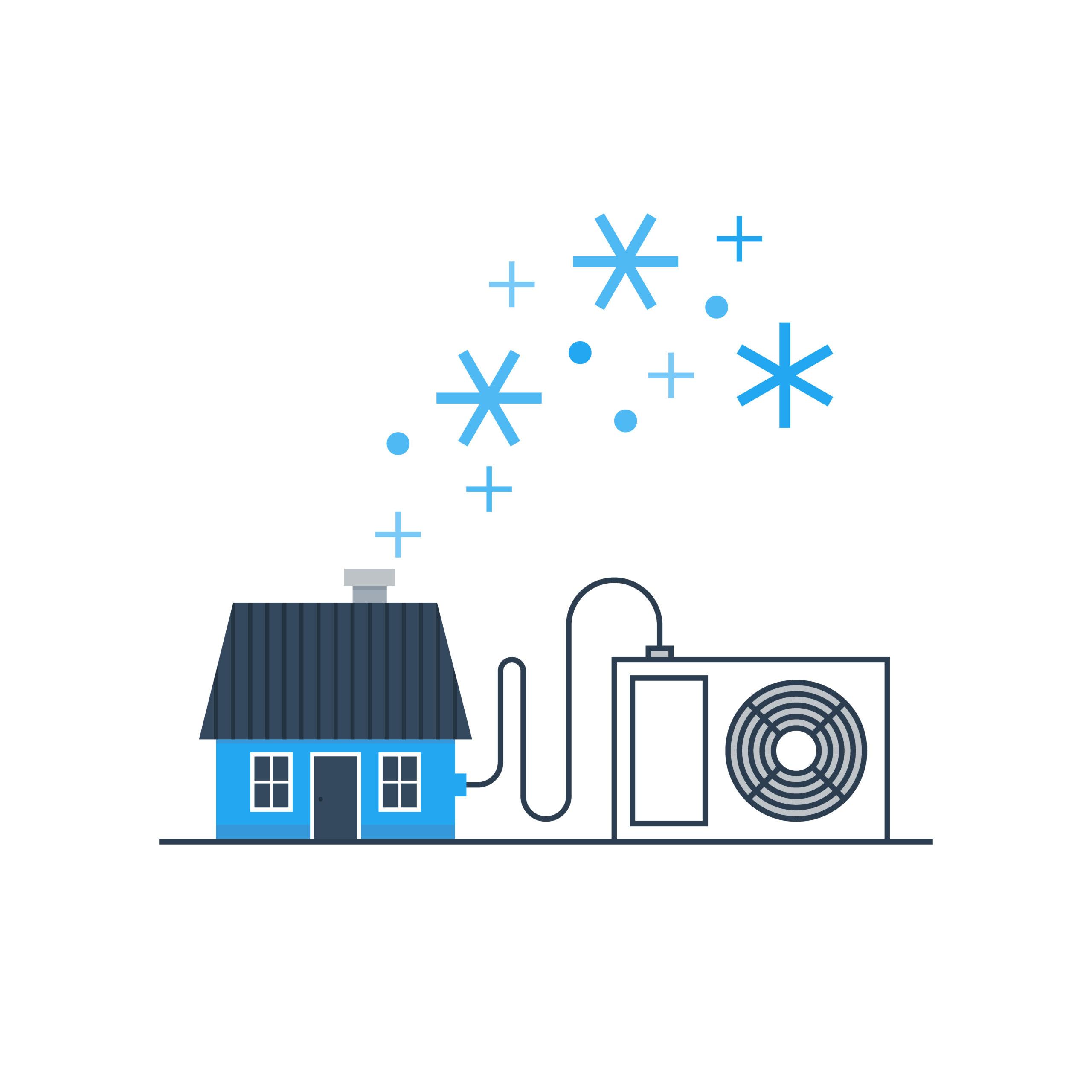 Položky, které potřebujete pro instalaci bez potrubí